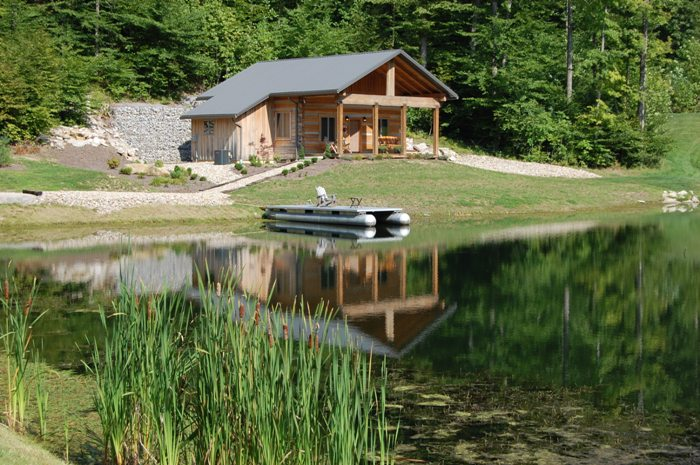 Brown county nashville indiana vacation log cabin rentals for Ponte coperto cabina brown county