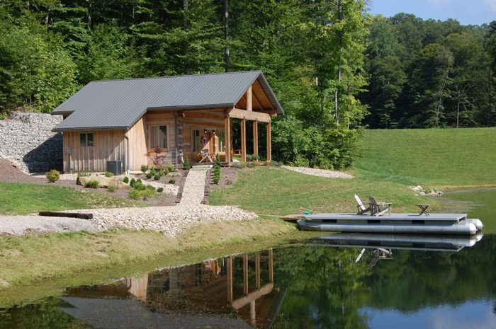 brown county nashville indiana vacation log cabin rentals