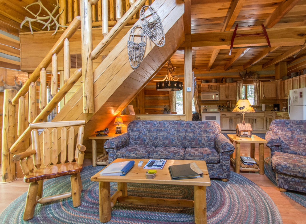 Brown county indiana antler log cabins vacation cabin for Ponte coperto cabina brown county